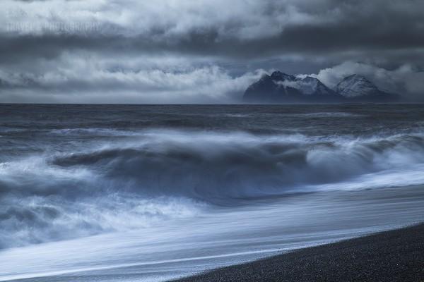 Islandia, południowe wybrzeże.
